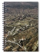 Province Of Alicante Spiral Notebook