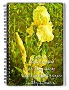 Psalm 13 5 Spiral Notebook