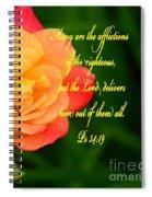 Psalm 34 V 19 Spiral Notebook