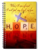 Psalm 56 3 Spiral Notebook