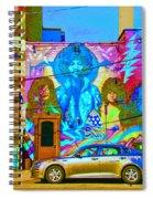Psychdelic Rockers Spiral Notebook
