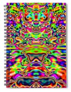 Psychedelia Spiral Notebook