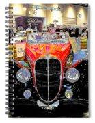 Psychedelic 1947 Delahaye 135m Letourner Et Marchand Cabriolet Spiral Notebook