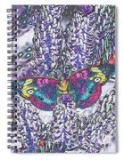 Psychedelic Butterfly Spiral Notebook