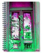 Psychedelic Door Spiral Notebook
