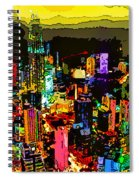 Psychedelic  Dubai Art Spiral Notebook