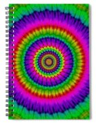 Psychedelic Journey Spiral Notebook
