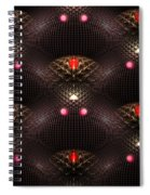 Psychedelic Pattern Spiral Notebook
