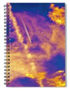 Psychedelic Skys Spiral Notebook