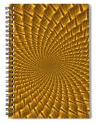 Psychedelic Spiral Spiral Notebook