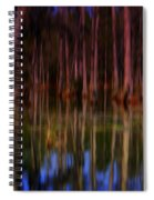 Psychedelic Swamp Trees Spiral Notebook