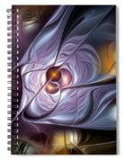 Psychic Malapropisms Spiral Notebook
