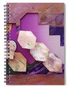 Psycho 3d Spiral Notebook