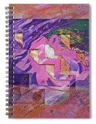 Psycho Pattern Spiral Notebook