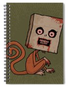 Psycho Sack Monkey Spiral Notebook