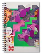 Psycho Scream Spiral Notebook