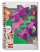Psycho Scream Spiral Notebook