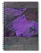 Psycho Warhol Deep Purple Spiral Notebook