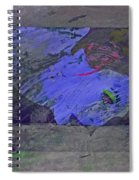 Psychowarhol Blue Spiral Notebook