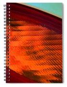 Pt Abstract 6 Spiral Notebook