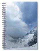Ptarmigan Pass South Approach - Glacier National Park Spiral Notebook