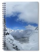 Ptarmigan Pass Tunnel North - Glacier National Park Spiral Notebook