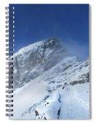 Ptarmigan Pass Tunnel South - Glacier National Park Spiral Notebook
