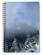 Ptarmigan Trail Overlooking Elizabeth Lake 2 - Glacier National Park Spiral Notebook