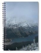 Ptarmigan Trail Overlooking Elizabeth Lake 3 - Glacier National Park Spiral Notebook