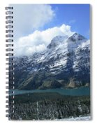 Ptarmigan Trail Overlooking Elizabeth Lake 5 - Glacier National Park Spiral Notebook