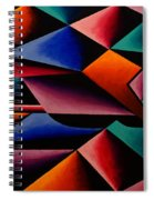 Pterodactyl Cubed Spiral Notebook