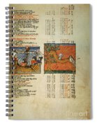 Ptolemy: Almagest, 1490 Spiral Notebook
