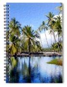 Pu Uhonua O Honaunau Pond Spiral Notebook