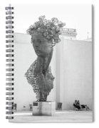 Havana Sculpture Spiral Notebook