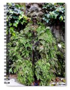 Public Fountain In Palma Majorca Spain Spiral Notebook