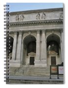 Public Library New York City Spiral Notebook