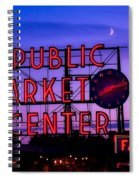 Public Market Center - Seattle Spiral Notebook