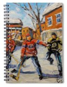 Puck Control Hockey Kids Created By Prankearts Spiral Notebook