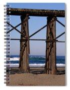Pudding Creek Beach Spiral Notebook