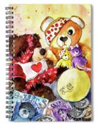 Pudsey And Truffle Mcfurry For Children In Need Spiral Notebook