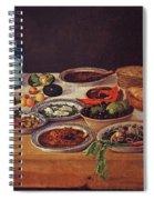 Puebla Kitchen Spiral Notebook