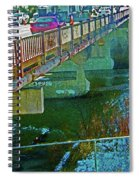 Pueblo Downtown--4th Street Bridge Spiral Notebook