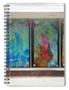 Pueblo Downtown Artwork Spiral Notebook