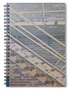 Pueblo Downtown Fire Escape Spiral Notebook