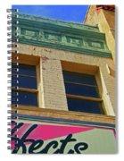 Pueblo Downtown-screened Effects Spiral Notebook
