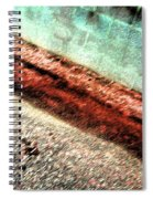 Pueblo Downtown--sweeny Abstract Spiral Notebook