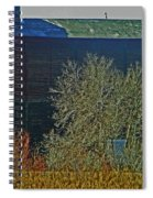 Pueblo Downtown-sweeny Feed Mill 6 Spiral Notebook
