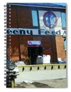 Pueblo Downtown--sweeny Feed Mill Spiral Notebook