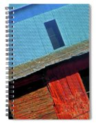 Pueblo Downtown--sweenys Feed Mill Spiral Notebook