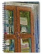 Pueblo Downtown--thatcher Building Door Spiral Notebook